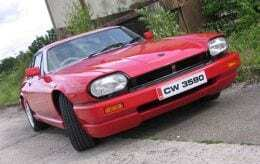 Jaguar TWR restoration: A red TWR XJRS coupe once belonging to Keith Richards