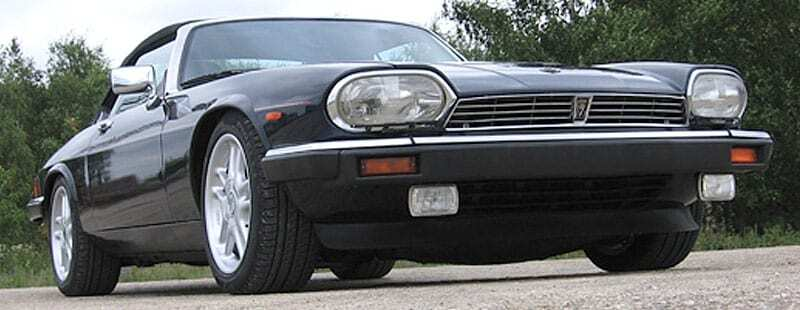 Jaguar XJS Restoration - completed black car