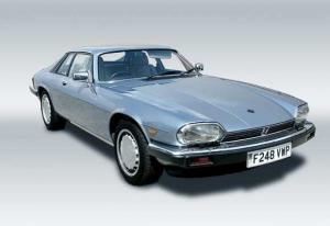 Light blue XJS