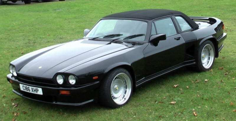 Jaguar XJS for sale - Lister Black