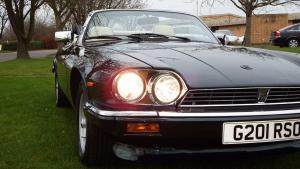 Convertible V12 Jaguar XJS