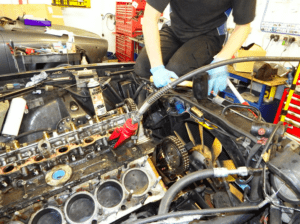 removing cylinder heads