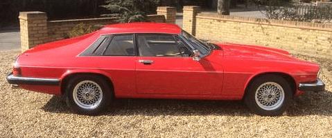 1990 Jaguar Xjs V12 Red Coupe