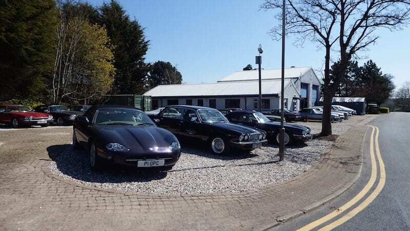 15 classic Jaguar cars await restoration at our new plot of land on Greenham Business Park
