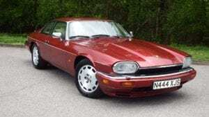 Jaguar XJS for sale - dark red