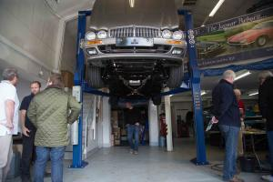 Jaguar XJS KWE Cars workshop