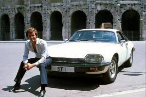 Simon Templar and his Jaguar XJ-S in Return of the Saint