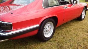 V12 Jaguar XJS in Meteor Red