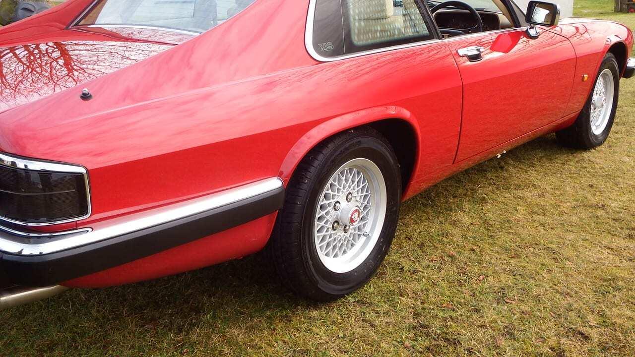 Tag Jaguar Xjs Xj From Kwe Cars 1970 Xj6 Art V12 In Meteor Red