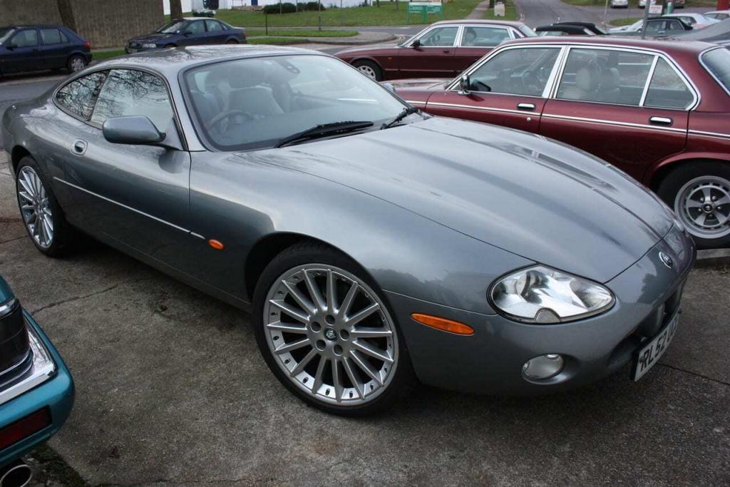 Jaguar XK8 4 litre coupé visits KWE
