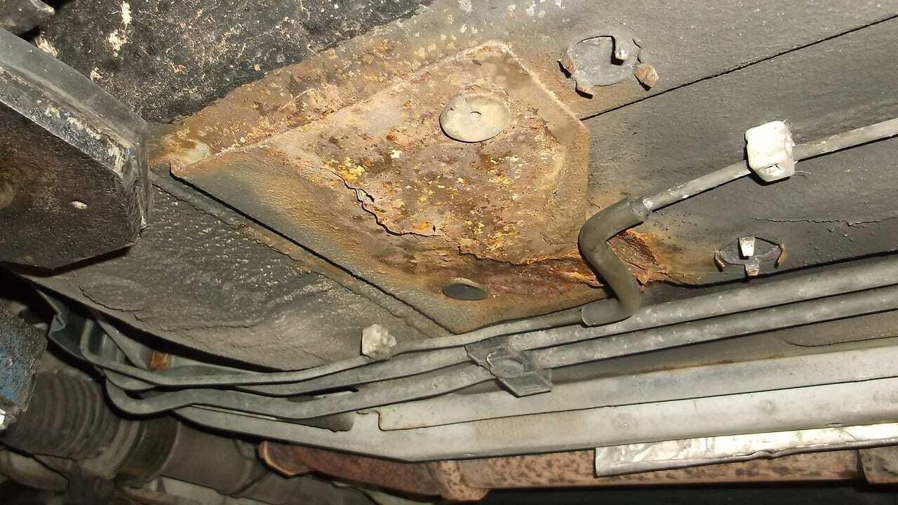 Jaguar Xk8 Rust