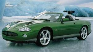 Jaguar XKR made famous by Die Another Day