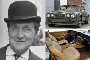 John Steed's Jaguar XJ-C 12 with body kit and leather trim
