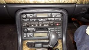 Jaguar XK8 modern headunit