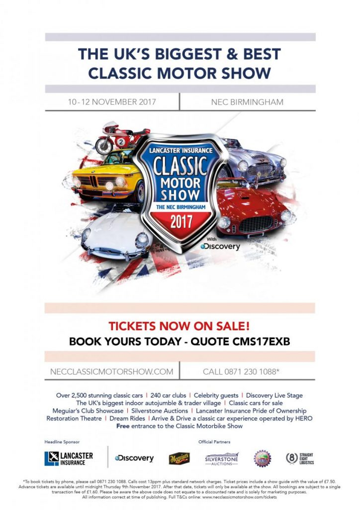 KWE Jaguar restoration at the NEC classic motor show