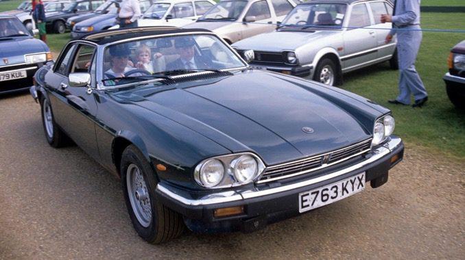 Princess Diana's Jaguar XJSC