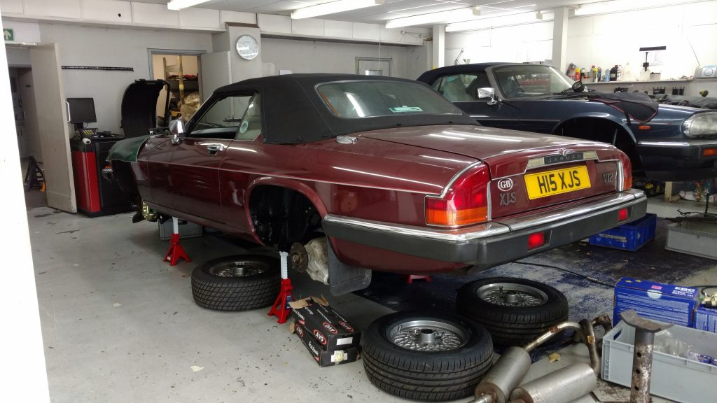 Client Review: KWE Suspension Upgrade – XJ-S Convertible V12